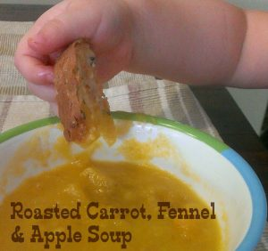 Roasted Carrot, Fennel and Apple Soup by Play with Food