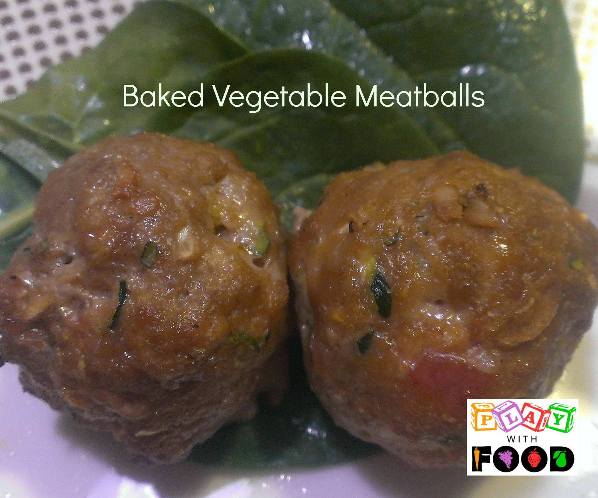 Baked Winter Vegetable Meatballs