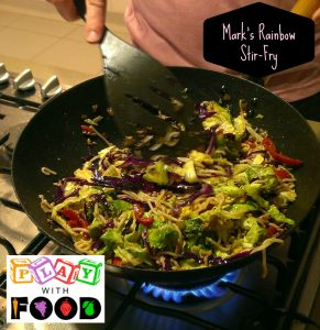 Rainbow Stir-Fry with Pork and Cabbage by Play with Food