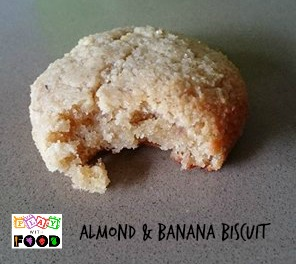 Almond & Banana Biscuit | Play with Food