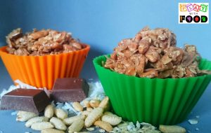 Choc Peanut Crackles | Play with Food