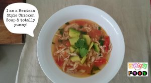Mexican Style Chicken Soup by Play with Food