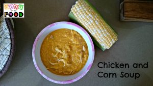 Kid Friendly Chicken and Corn Soup by Play with Food