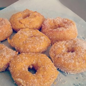 Baked Honey and Pumpkin Donuts | Play with Food
