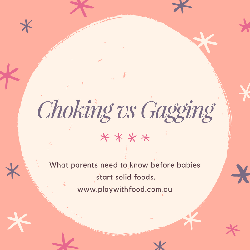 Babies starting solids - Choking vs Gagging