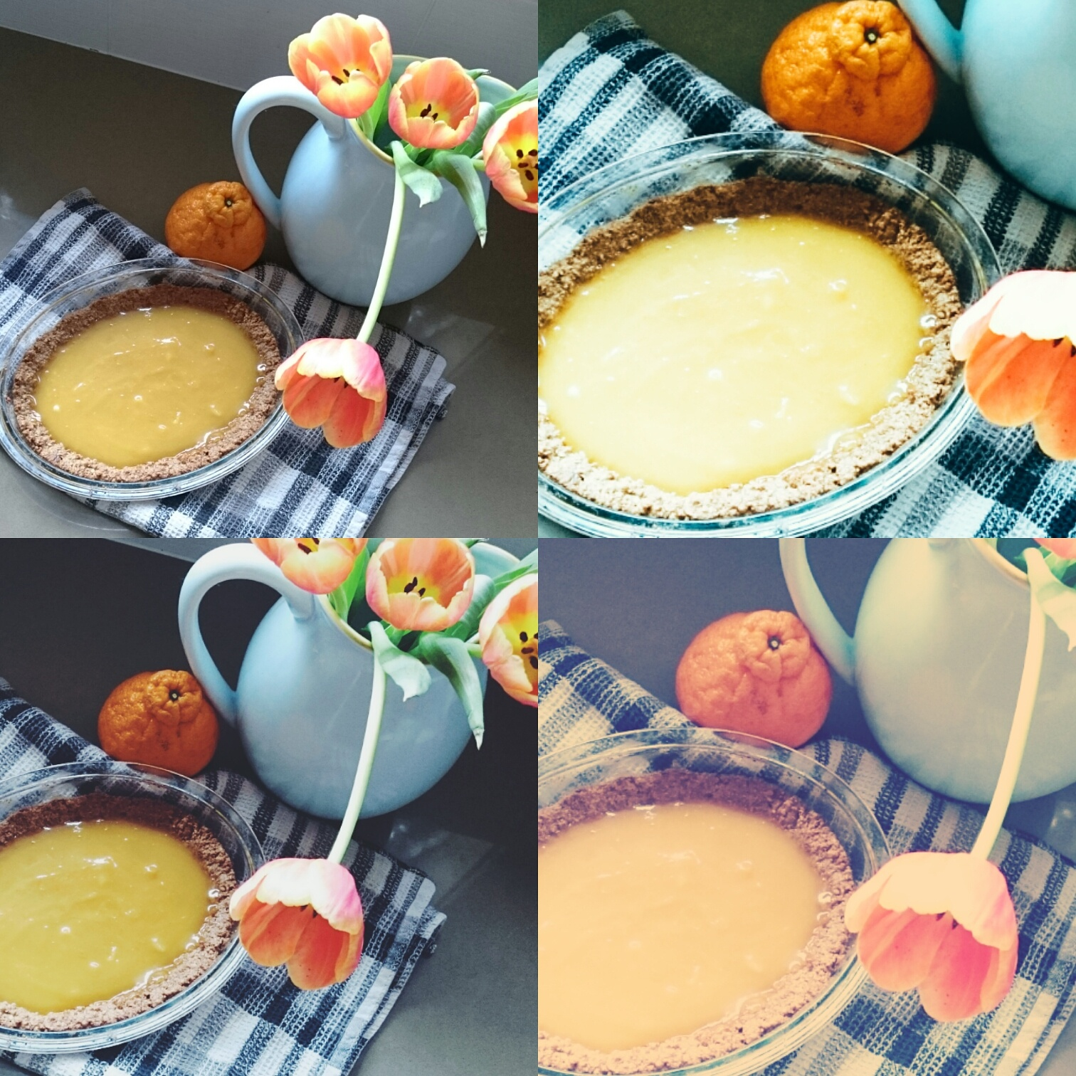Mandarin Curd Tart | Play with Food
