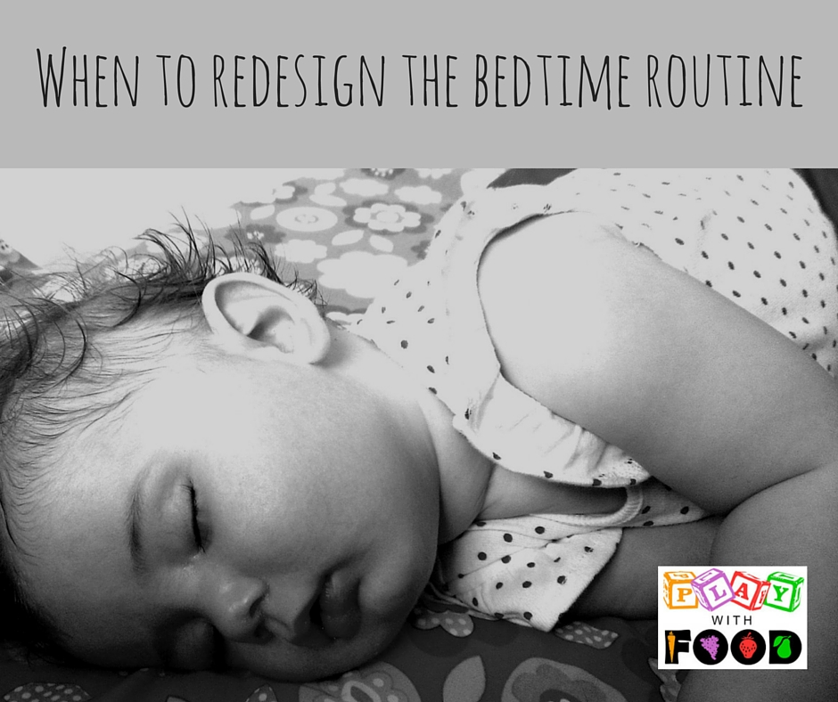 When to Redesign the bedtime routine | Play with Food