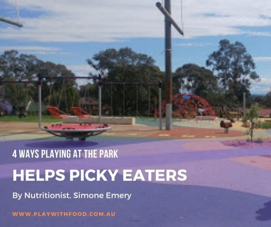 4 Reasons Playing at the Park Helps #PickyEaters