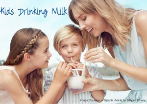 Kids Drinking Milk by Simone Emery - Play with Food