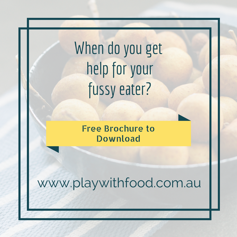 When do you get help for your fussy eater?