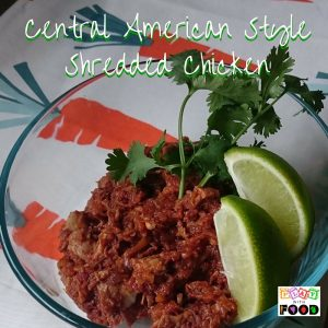 Central American Style Shredded Chicken and Meat Aversion for Fussy Kids by Play with Food