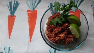 Meat Aversions and Central American Style Shredded Chicken Recipe |