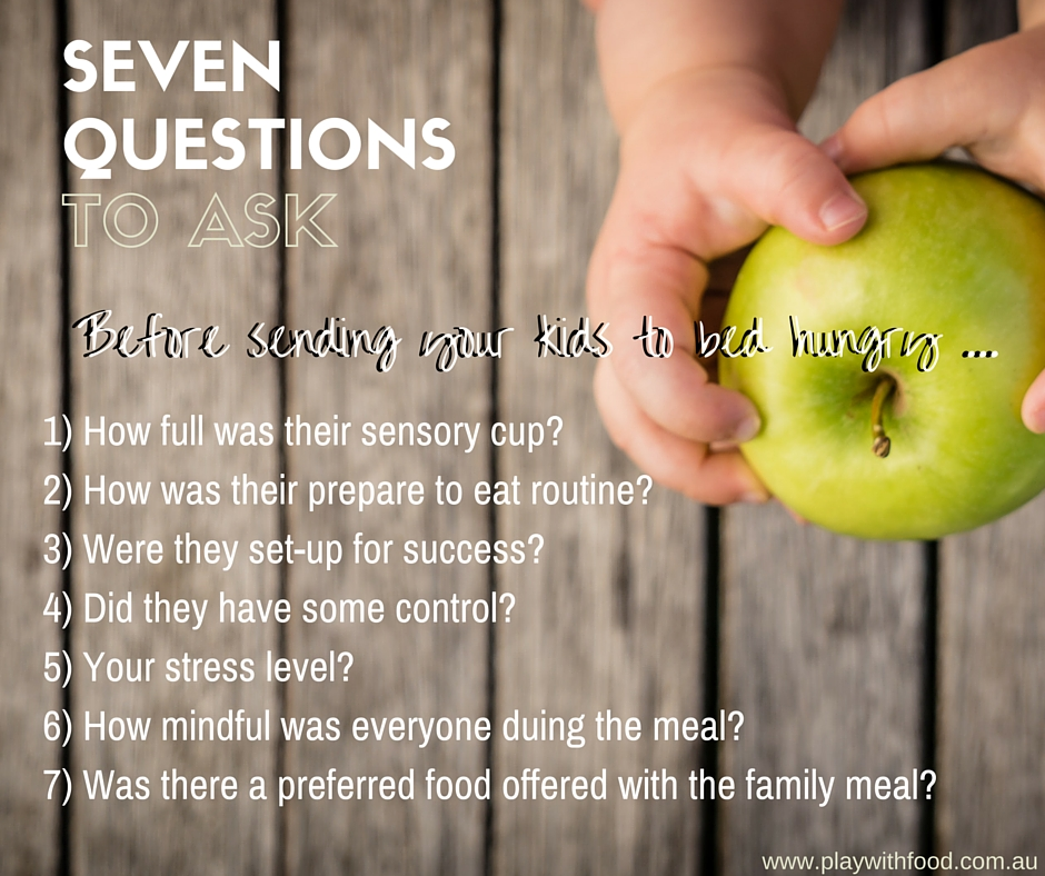 Should you send your child to bed hungry? By Play with Food