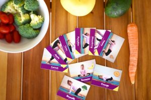 Kids Yoga Cards to Get Ready for Dinner | Play with Food
