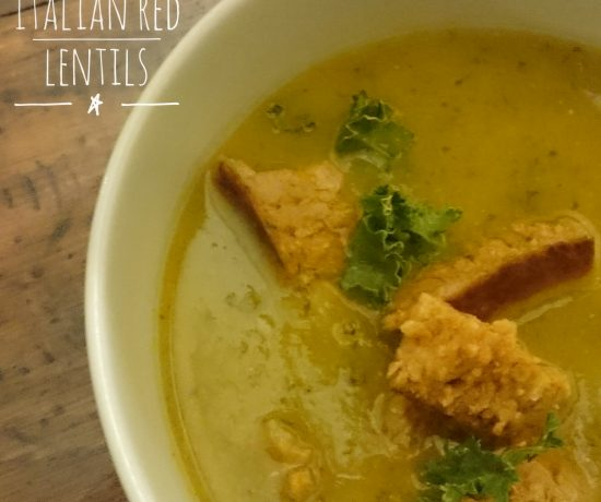 Italian Red Lentils by Play with Food