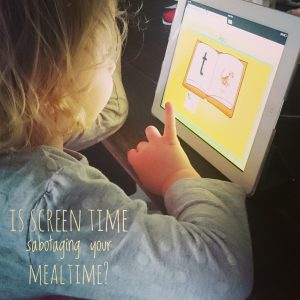 Is screen time sabotaging your mealtime? Play with Food