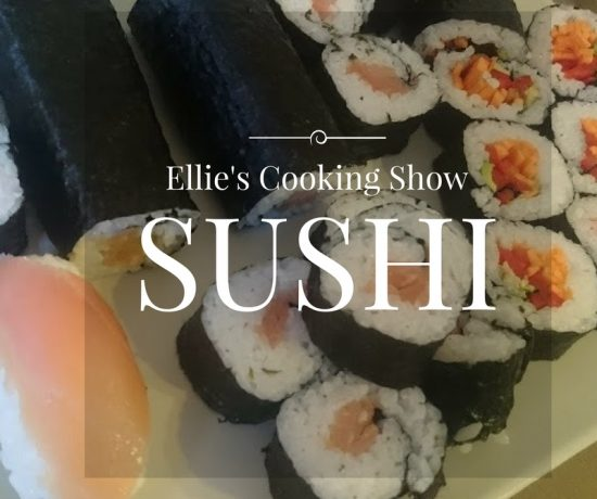 Kids Sushi | Ellie's Cooking Show | Play with Food