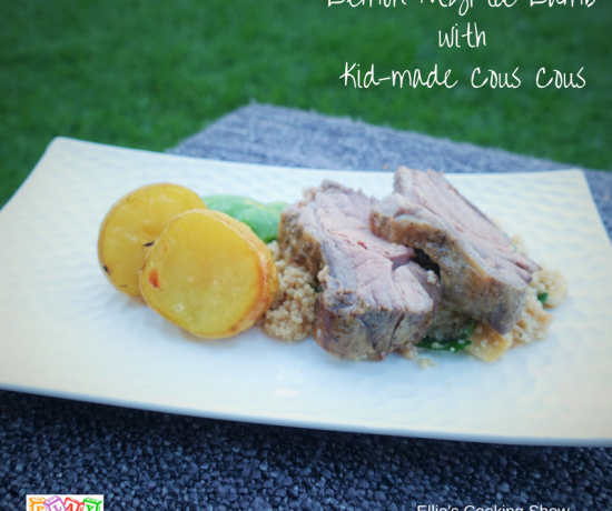 Lemon Myrtle Lamb and Cous Cous for Kids by Play with Food