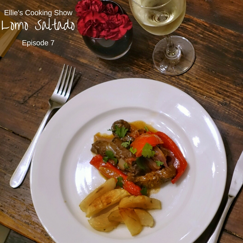 Lomo Saltado on Ellie's Cooking Show | Playwithfood.com.au