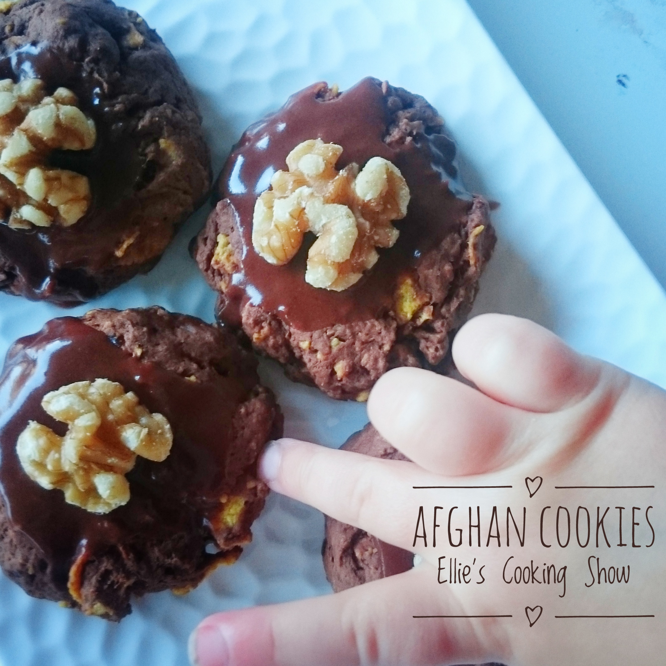 Ellie's Cooking Show: Episode 13: NZ's Fave Afghan Biscuit