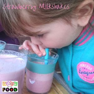 Strawberry Milkshakes by Play with Food