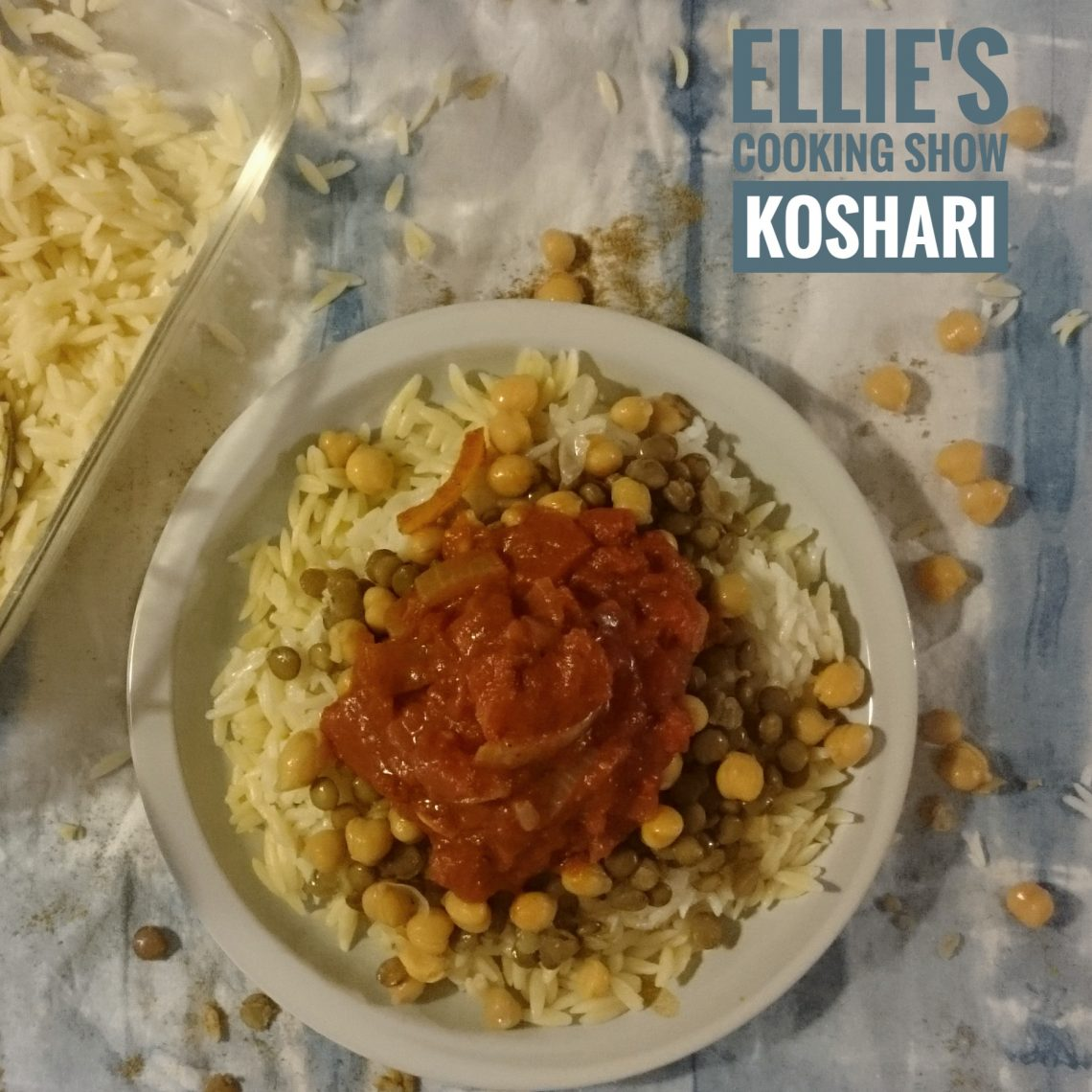 Koshari Egyptian Cuisine | Ellie's Cooking Show | Cooking with Kids | Play with Food