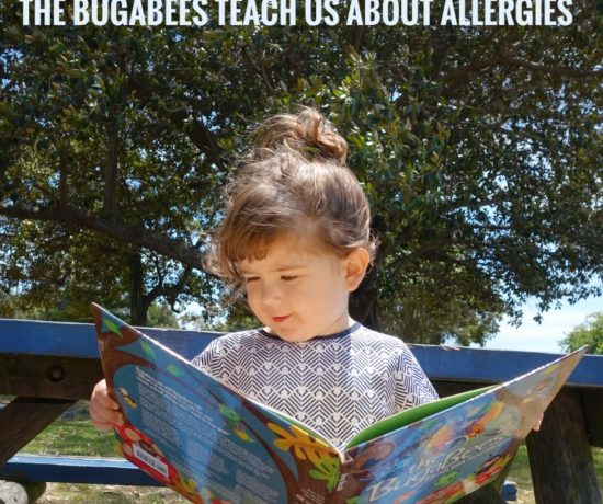 The BugaBees Book Review | Kids Books to help understand Food Allergies | Play with Food