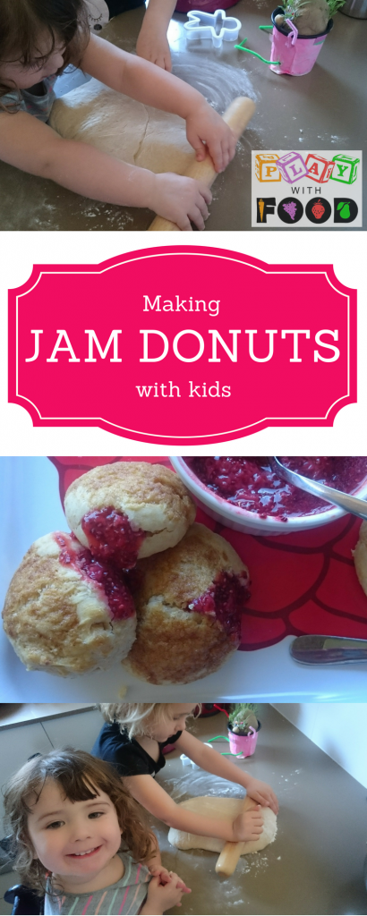 Making Strawberry and Chia Jam Filled Donuts with Kids | Play with Food