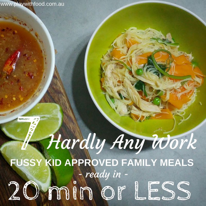 7 Easy to Make Family Meals that are Fussy Eater Approved (Play with Food)