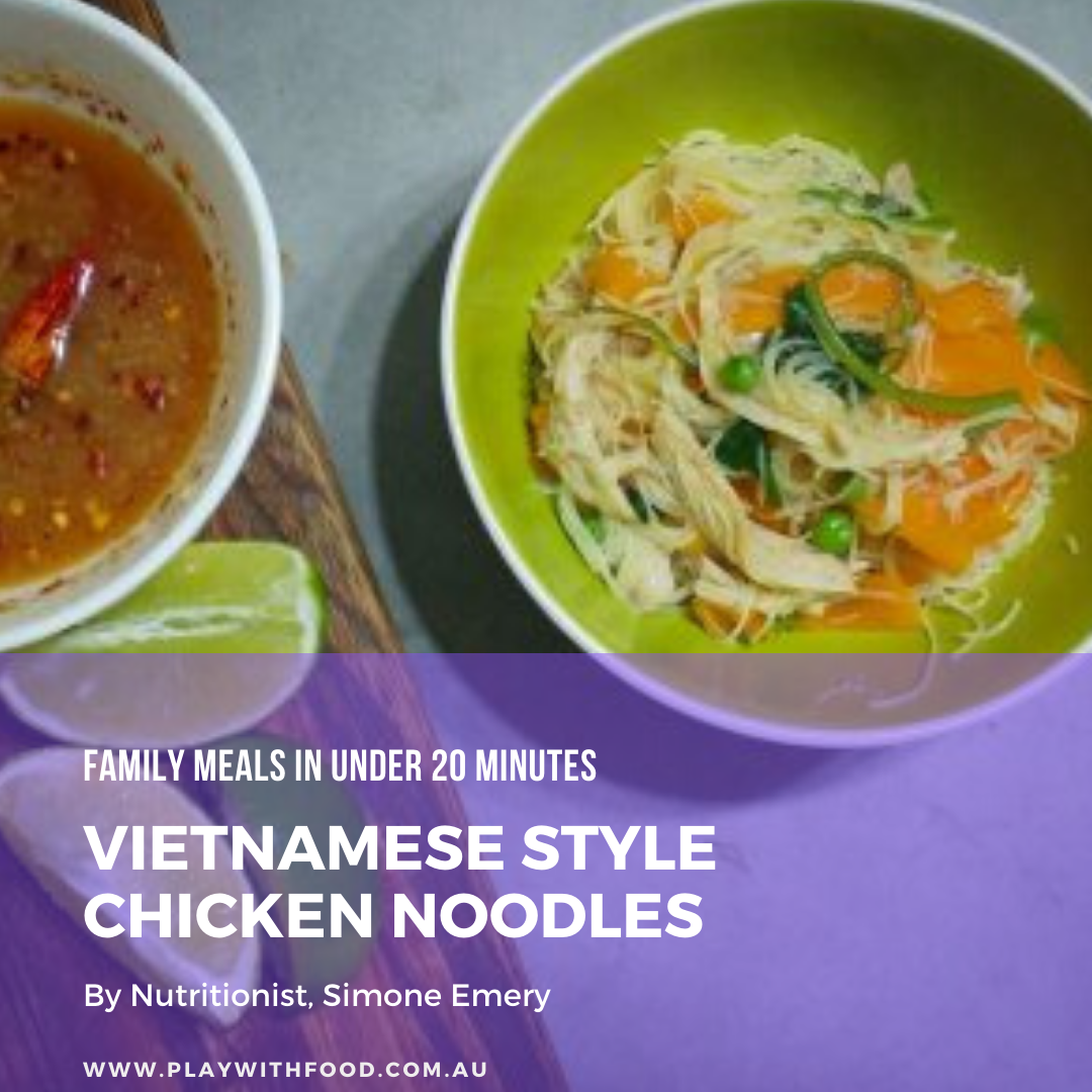 7 family meals under 20 mins & my recipe for Vietnamese style chicken soup