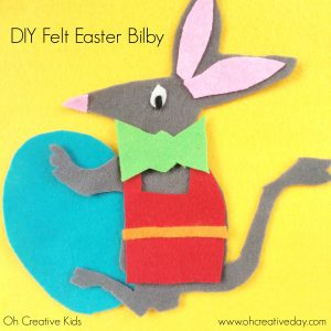 Oh Creative Day's Easter Bilby Craft