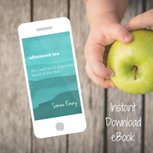 Instant Download of Afternoon Tea: The Next Most Important Meal of the Day by Simone Emery from Play with Food