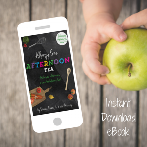 Electronic Copy of Allergy Free Afternoon Tea by Simone Emery and Ruth Meaney