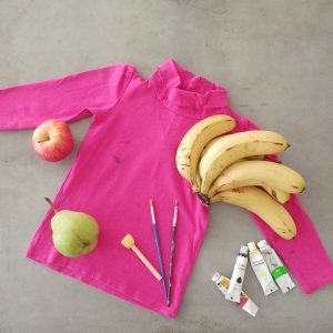 Fruit Inspired Shirt Art using Acrylic Paints - Play with Food