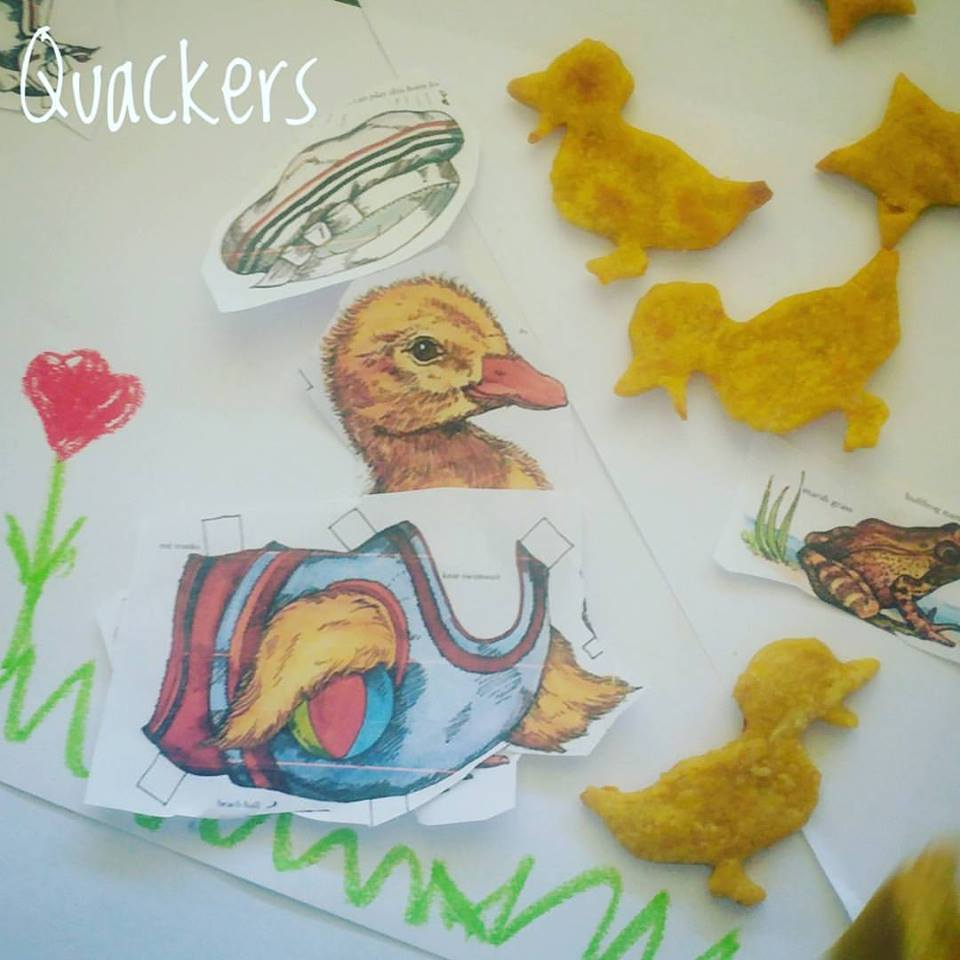 Making fun sweet potato crackers with children