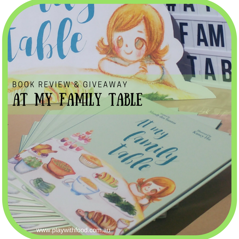 GIVEAWAY At My Family Table {Book Review}