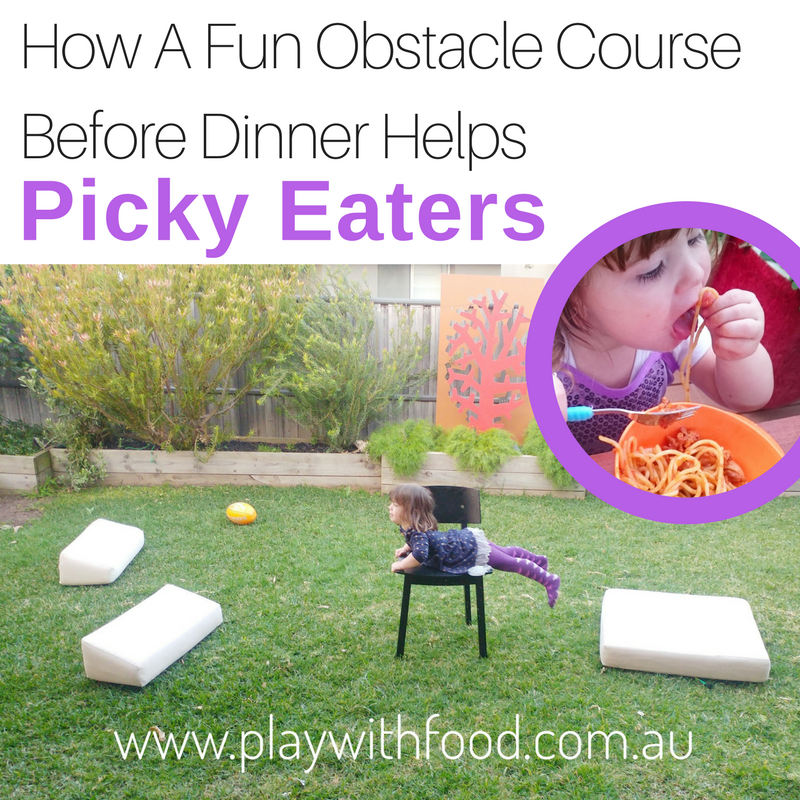 A Before Dinner Obstacle Course to Help Your Picky Eater