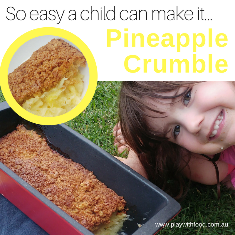 Easy Pineapple Crumble