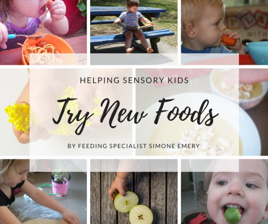 Helping Sensory Kids Try New Foods by Feeding Specialist Simone Emery | Play with Food
