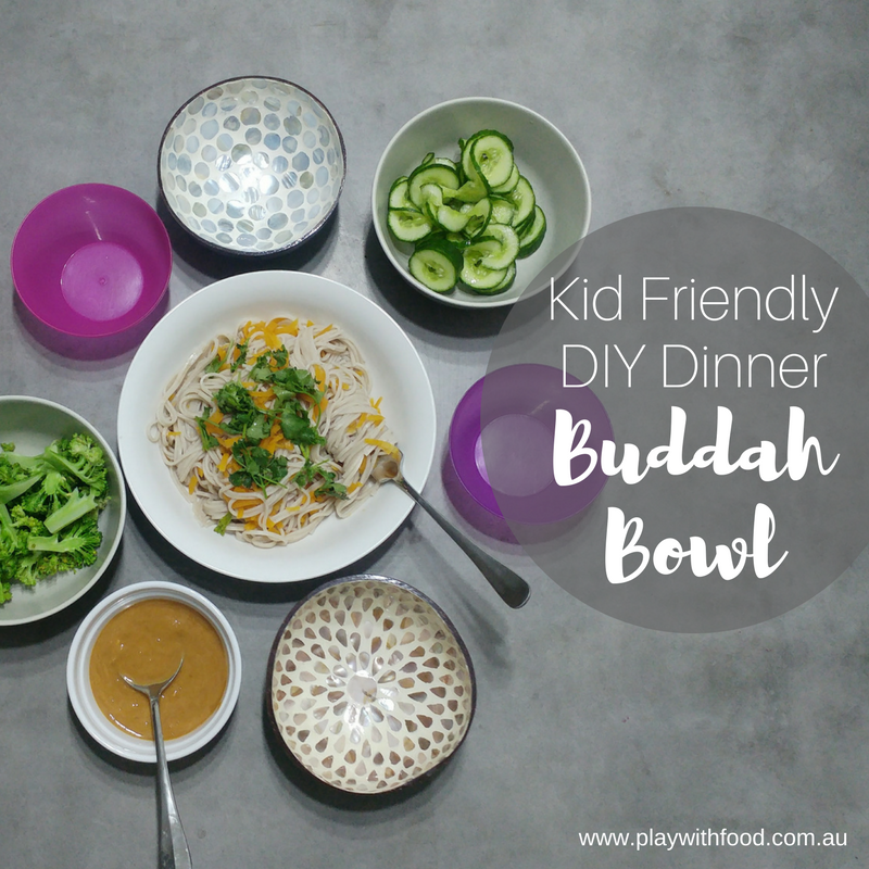 Construct Your Own Family Meal: Buddah Bowls