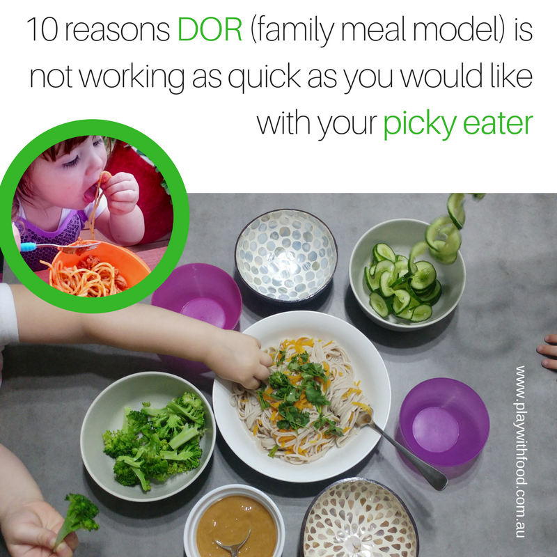 10 Reasons Your Picky Eater Is Still Not Eating Family Style Meals
