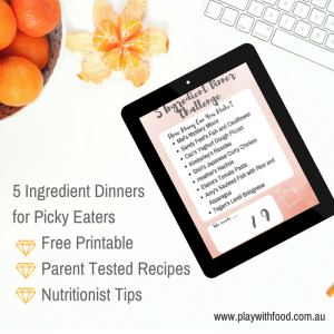 5 ingredient dinner challenge for #pickyeaters by Play with
