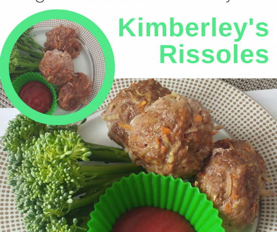 Rissole Recipe for Fussy Eaters