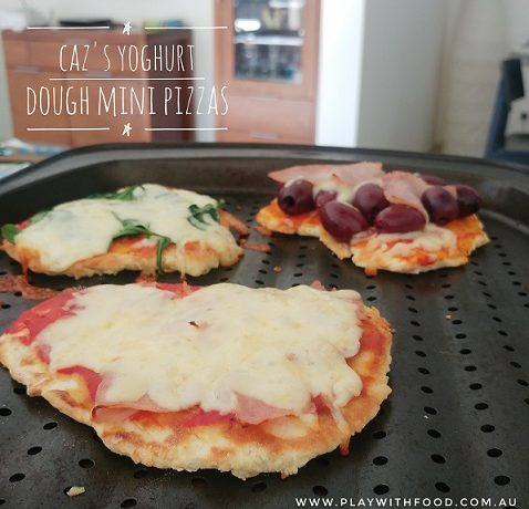 Caz's Yoghurt Dough Mini Pizzas for Fussy Eaters | Family Meal | 5 Ingredients | Play with Food