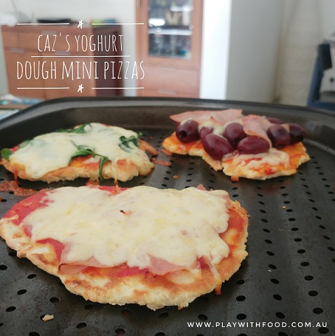 Caz's Yoghurt Dough Pizzas for Fussy Eaters