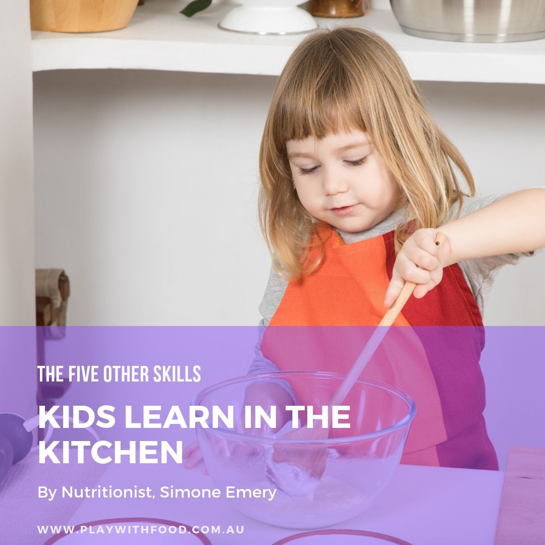 Executive Function Skills and Developing them in your child within the kitchen