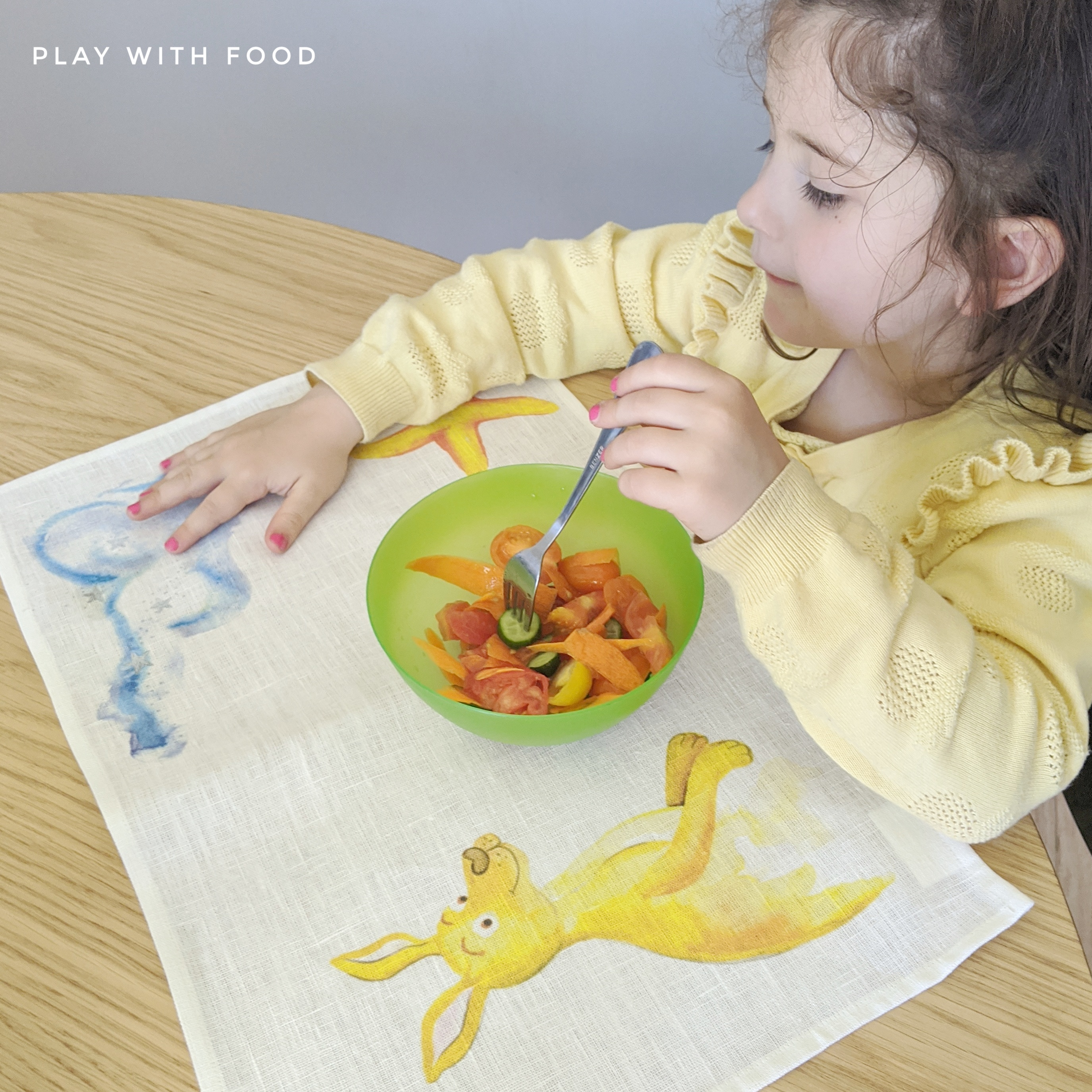 The Peaceful Mealtime Placemat and Video to Increase Your Child's Ability to Try New Foods